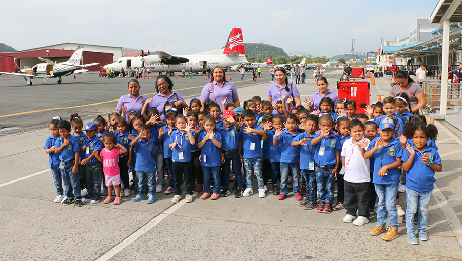 Escuela Rafael Maduro de Chame nos Visito