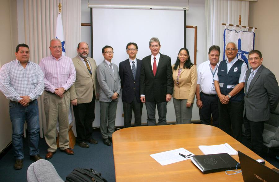 Autoridades de la AAC reciben a misión de JICA