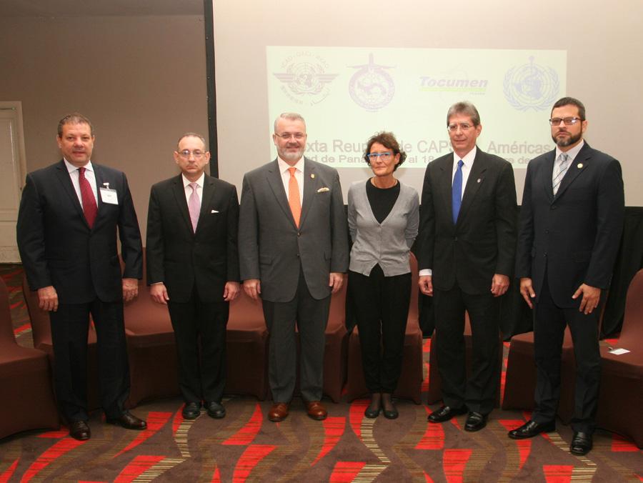 Panamá  evalúa controles de enfermedades de transmisión en aeropuertos