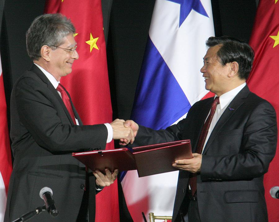 Las Autoridades de Aviación de la República Popular de China y la República de Panamá firman memorándum de entendimiento en relación al transporte aéreo entre ambas naciones.