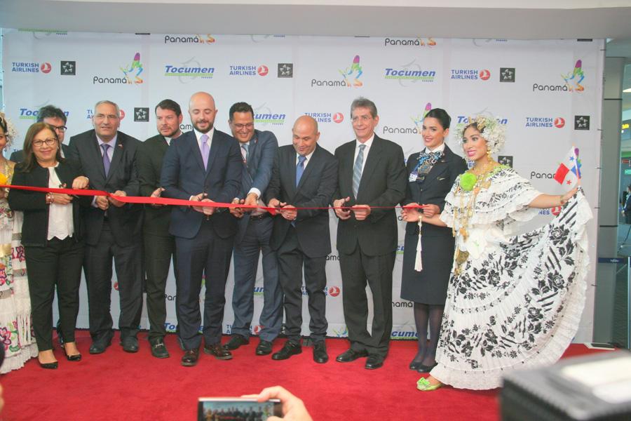 AAC felicita a Turkish Airlines por vuelo inaugural a Panamá