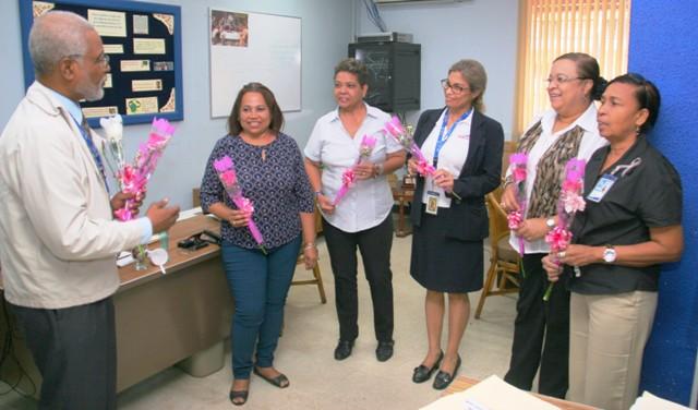 AAC felicitó a las funcionarias en el Día Internacional de la Mujer