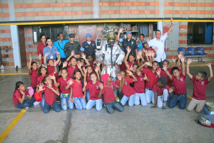 Grata visita recibe el aeropuerto Marcos A. Gelabert