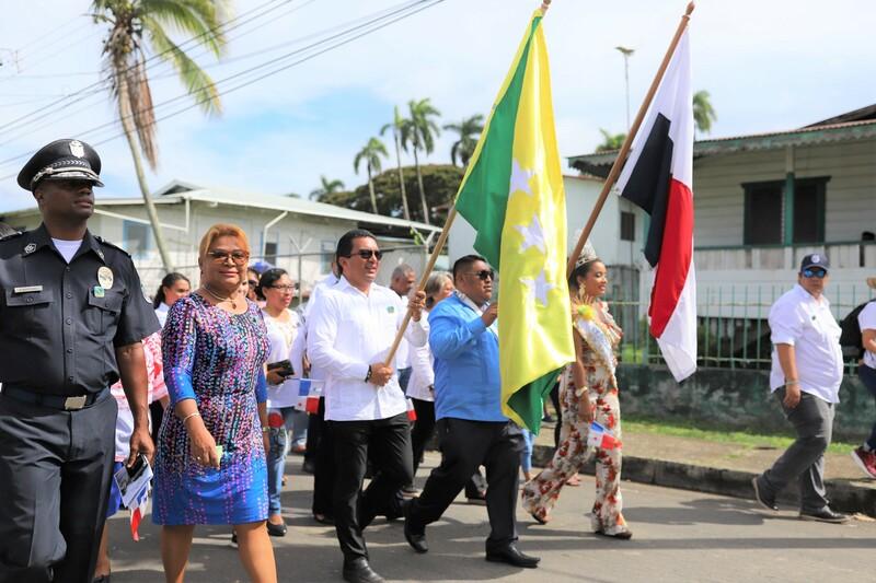 Director General participa en actos protocolares en la provincia de Bocas del Toro
