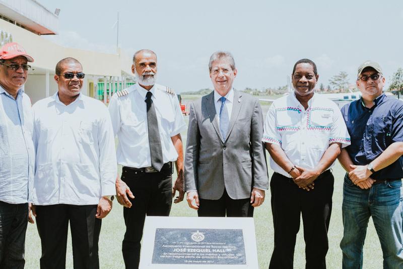 Aeropuerto Internacional de Bocas del Toro cambia su nombre en homenaje al Capitán José Ezequiel Hall